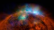 Gewaltige Eruption auf der Sonne