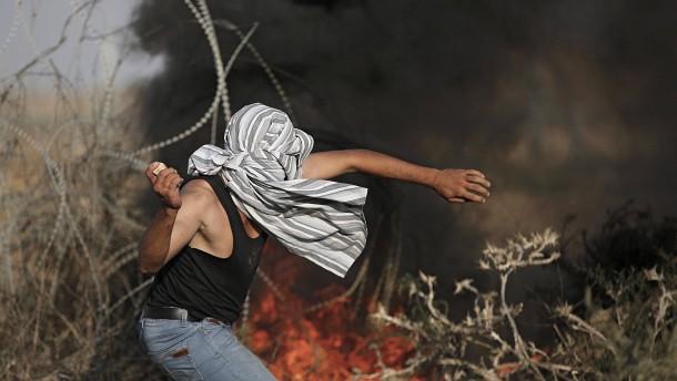 """Palästinenser sprechen von """"neuer Intifada"""""""