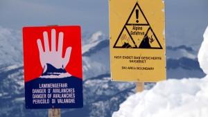 Drei Wintersportler tödlich verunglückt