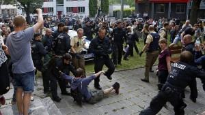 Polizei hat viel Integrationsarbeit zerstört