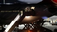 Die abgeschobene Familie landete am Donnerstagabend in Berlin-Tegel.
