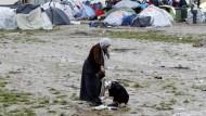 Zuflucht inmitten des Chaos: Im Flüchtlingslager Idomeni in Griechenland spitzt sich die Lage immer weiter zu