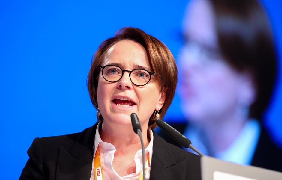 Die Bundesvorsitzende der Frauen Union der CDU Annette Widmann-Mauz