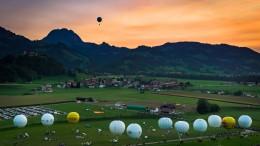 Weltmeisterschaft im Gasballonfahren