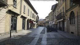Italien riegelt Städte im Norden ab