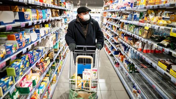 Hamsterkäufe bescheren Einzelhändlern deutlich mehr Umsatz