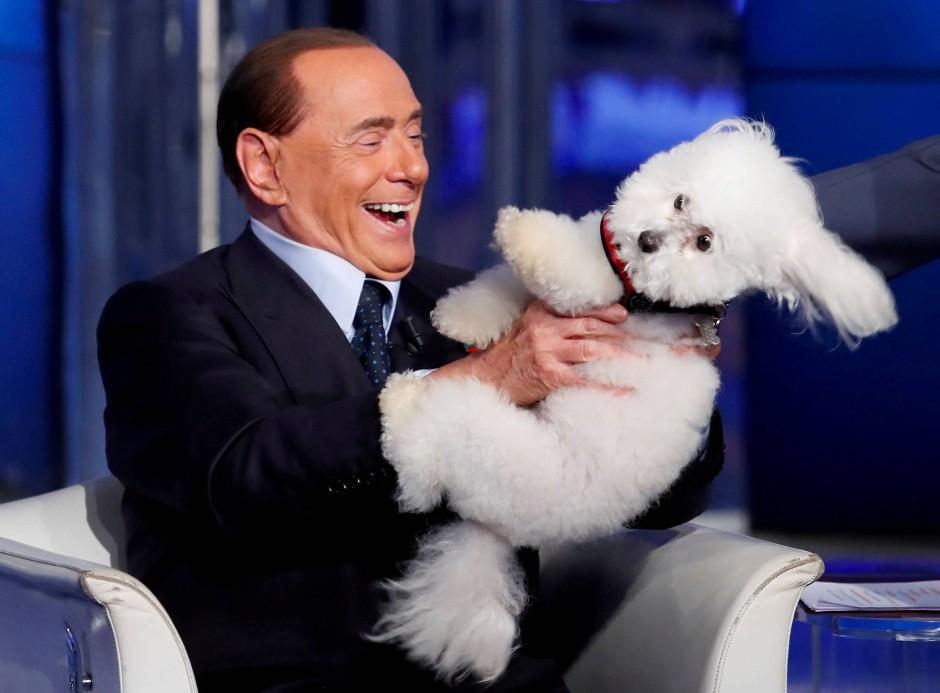Silvio Berlusconi hat große Pläne für das europäische Privatfernsehen.