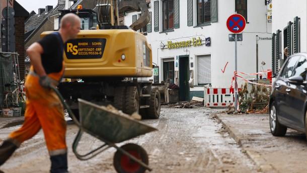 Bund soll Wiederaufbau zur Hälfte bezahlen