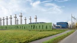 Gaskraftwerke für Klimaschutz