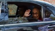 Der Dalai Lama in Indien im Dezember 2017