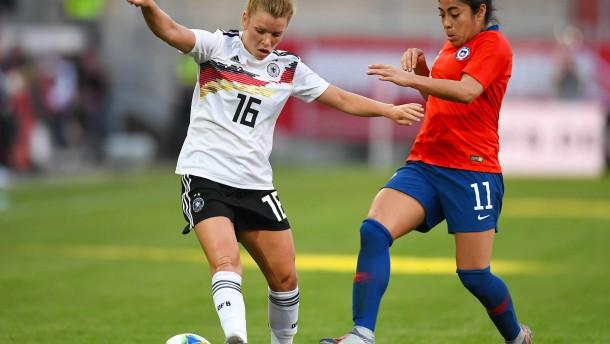 Deutsche Fußballerinnen schlagen Chile