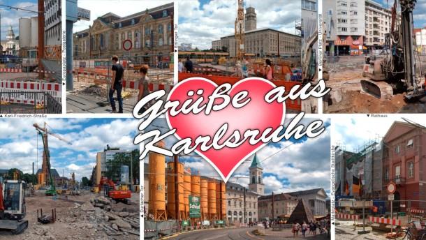 Karlsruhe Eine Innenstadt Wird Umgegraben Gesellschaft