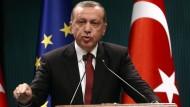 Regiert per Dekret: Recep Tayip Erdogan