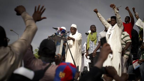 Ein Salafist an der Spitze des Protests