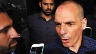 Klopfte starke Sprüche auch noch bei seinem Abgang als Finanzminister: Giannis Varoufakis
