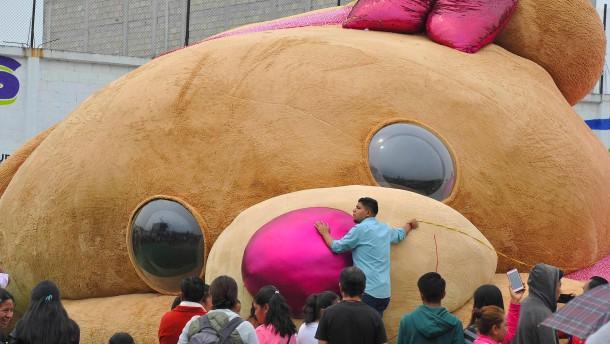Mexikanischer Riesen-Teddybär ist Weltrekord