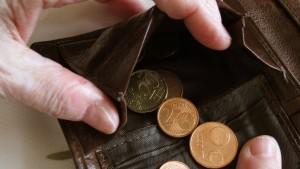 Geht zum neuen Jahr das Bargeld aus?