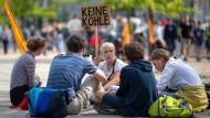 """Ab auf die Straße: """"Fridays for Future""""-Demonstranten vor einigen Tagen in Berlin."""