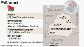 Infografik / Weißrussland / Parlamentswahl