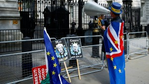 Großbritannien nimmt definitiv an Europawahl teil