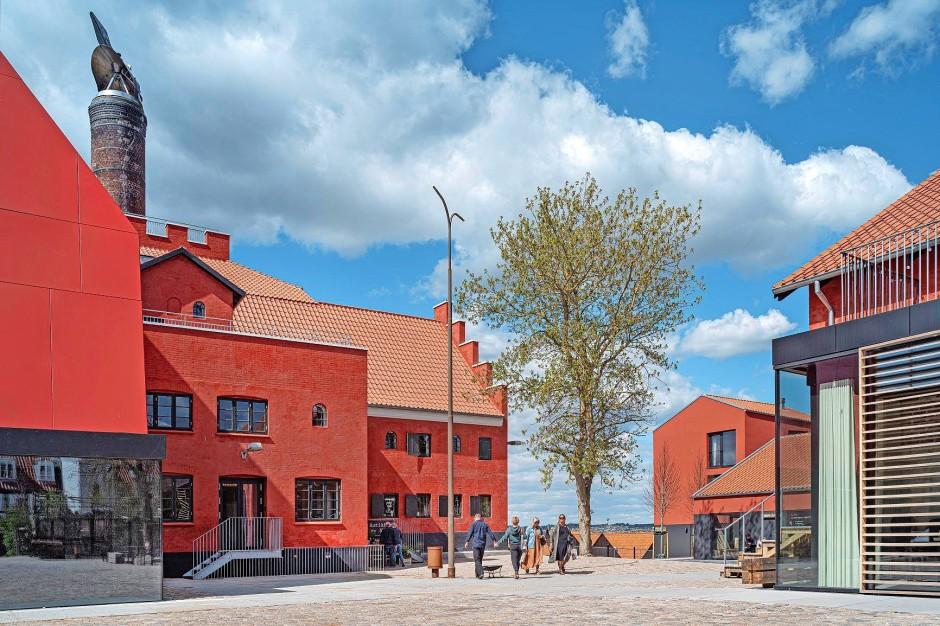 Mit unterschiedlichen Finanzierungshilfen aus ganz Dänemark wurde in Ebeltoft ein außergewöhnliches Kulturzentrum geschaffen.