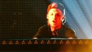 Am Ende stand er nicht mehr gern auf der Bühne: DJ Avicii bei einem Konzert in New York