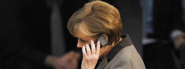 Das Handy der Kanzlerin ist speziell verschlüsselt.