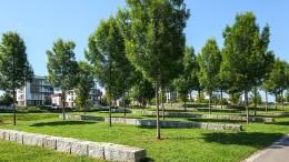 Zwölf Hektar innovatives Grün