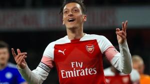 Starker Özil führt Arsenal zum Sieg gegen Leicester City