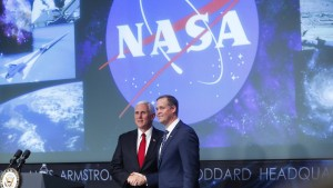 Amerikaner wollen bis 2024 wieder auf dem Mond landen