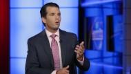 Donald Trump junior bezieht im Interview mit dem Fernsehsender Fox News Stellung zu seinem umstrittenen Treffen mit einer russischen Anwältin.