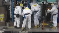 Schwieriger Kampf gegen Strahlen und Atommüll