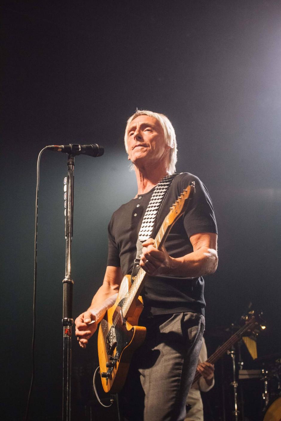 Paul Weller in Frankfurt Über dem Teppich blitzt und