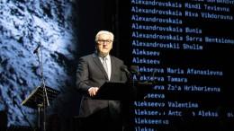 Steinmeier prangert wachsenden Antisemitismus in Deutschland an