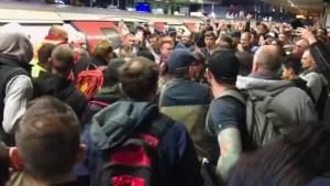 Pendler in Rage nach Blockade von Klima-Protestlern