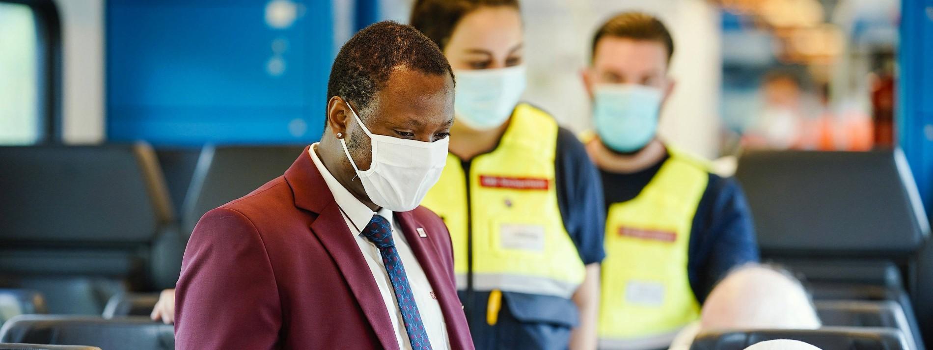 Bahn könnte FFP2-Masken zur Pflicht machen