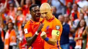 Belgien qualifiziert sich, Holland wahrt Minimalchance