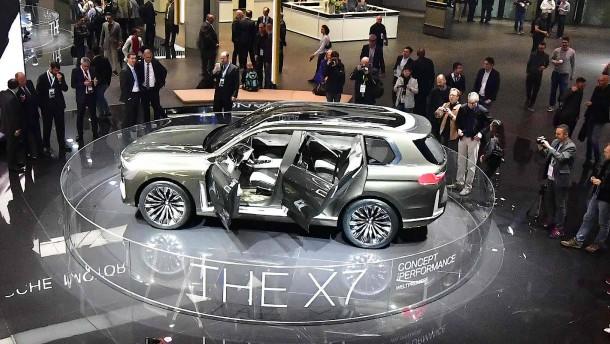 BMW freut sich über SUV-Rekord