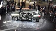 Reges Interesse am BMW X7 auf der IAA in Frankfurt