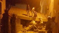 Schutt und eingestürzte Häuser: Auf der italienischen Urlaubsinsel Ischia gab es ein Erdbeben.