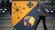 Fünfte Teilstreitkraft der Bundeswehr: Das Wappen des Cyber-Kommandos