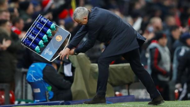 Mourinho-Ausraster nach Last-Minute-Sieg