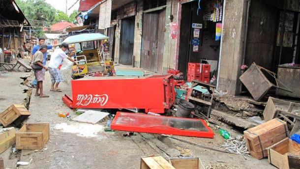 Mehr als 40 Tote bei Erdbeben