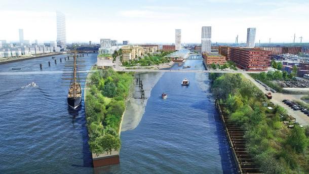 Hafenstädte erschaffen neue Trendviertel