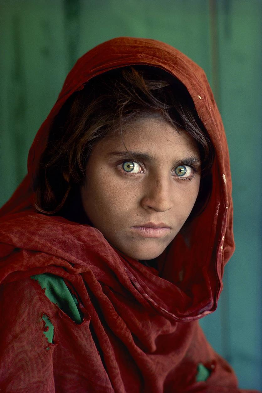 """Afghanisches Mädchen"", McCurrys berühmtestes Foto"