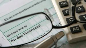 Steuer-Erstattung kommt frühestens Ende März