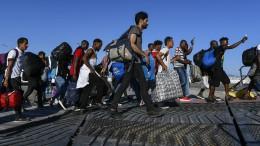 """""""75.000 Asylbewerber im Jahr sind gesellschaftlich verkraftbar"""""""