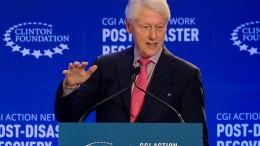 Ehemaliger US-Präsident Clinton im Krankenhaus