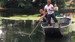 Unsichtbare Gefahr im Teich