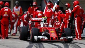 Für Ferrari geht es weiter bergab